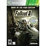 Fallout 3: Game of the Year Edition (Xbox 360) $10
