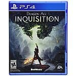 Dragon Age Inquisition (X1/PS4/360/PS3/PC) $30