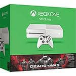 White Xbox One Gears of War Bundle Pre-Order $350
