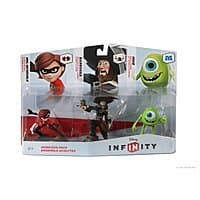 Toys R Us Deal: Disney Infinity Figure 3-Pack - Sidekicks (Mike, Barbossa, Mrs. Incredible) $8