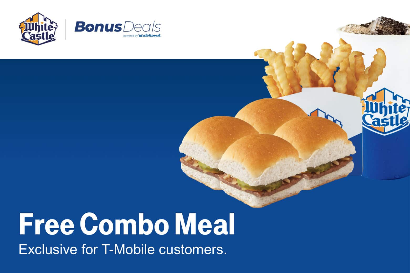 T-Mobile Customers (12/11): Free Combo Meal White Castle