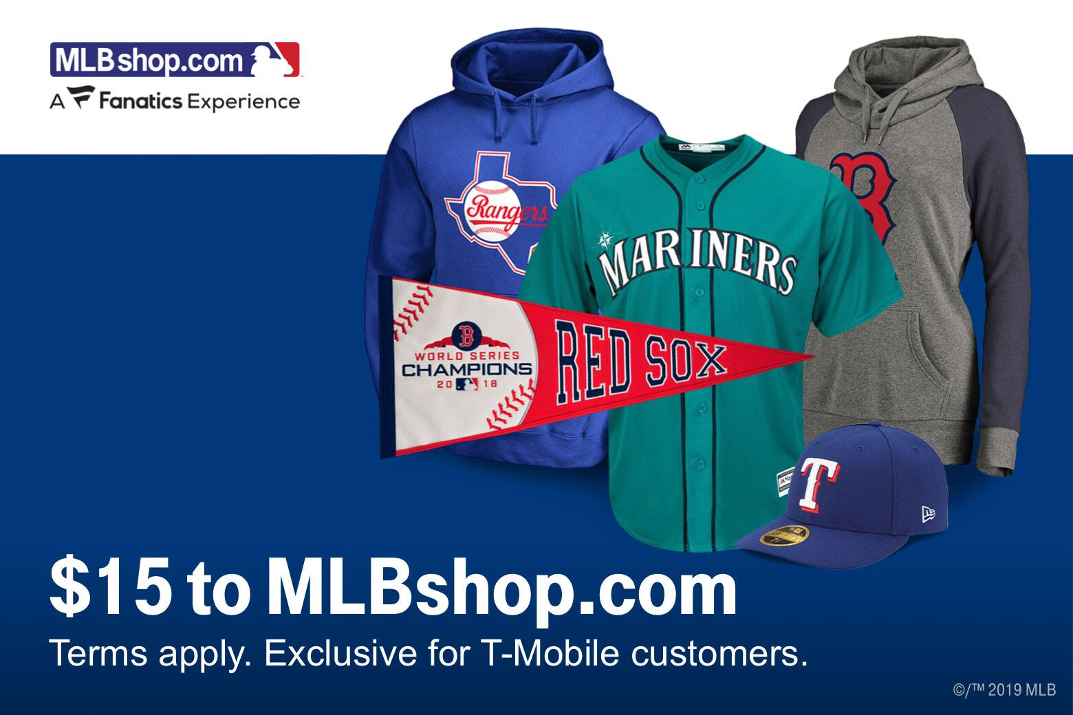 d693ea1b4 T-Mobile Customers (03/12): $15 off MLBshop, Rover $10 Credit, Shell 10  cents off per gallon, Taco Bell Free Taco