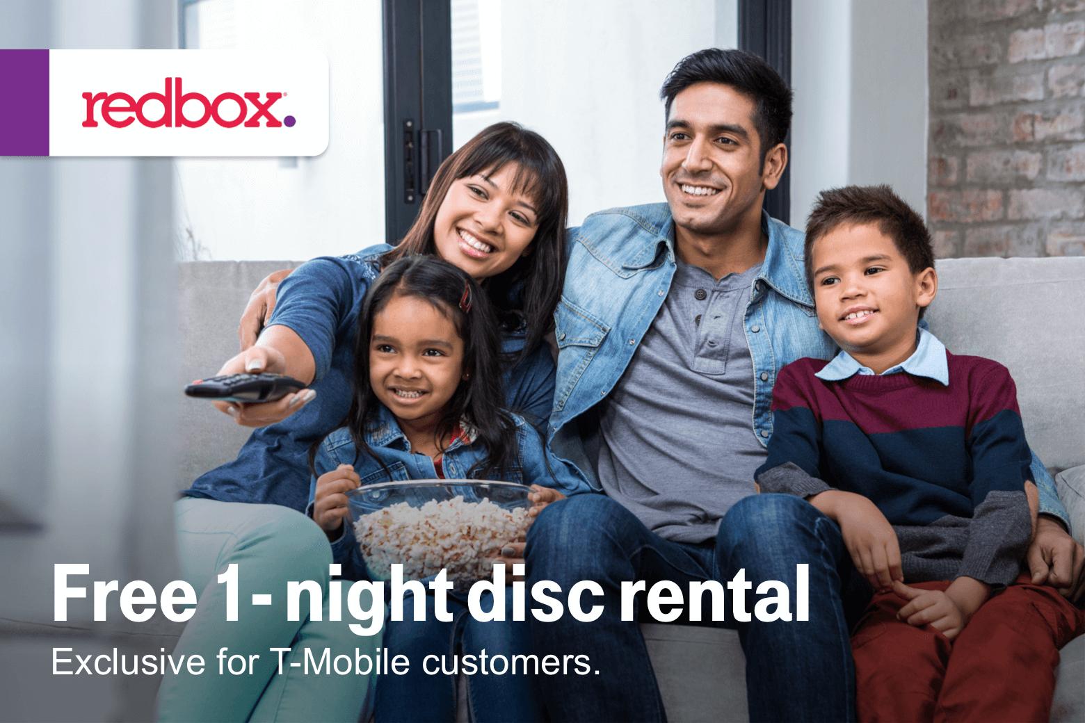 T-Mobile Customers 04/23: Free Redbox, $5 off ebay. '47 brand $20 off sports gear