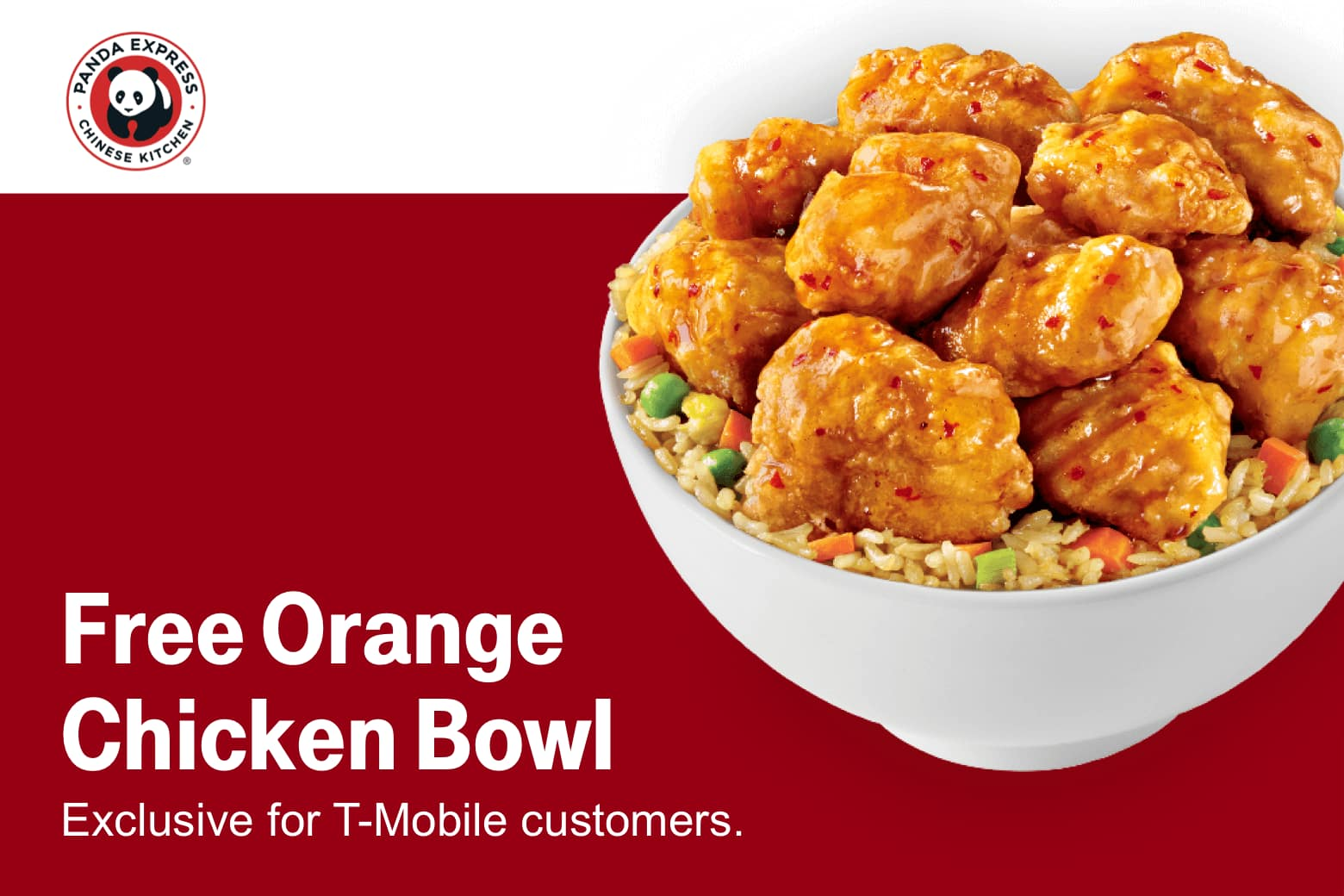 photograph relating to Panda Express Printable Coupons referred to as T-Cell Potential buyers 07/09: Free of charge Orange Fowl Panda Specific
