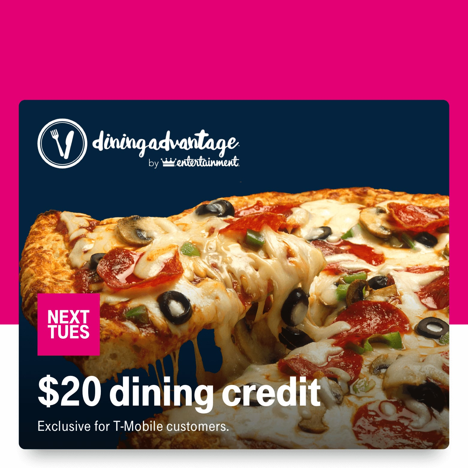 T-Mobile Customers 11/19: $20 Dining Credit, Puma 40% off