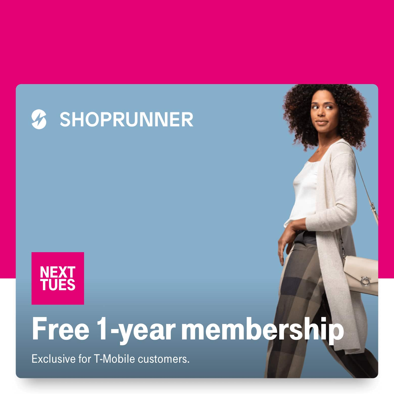 T-Mobile Customers 11/26: 1 free year Shoprunner, Reebok up to 50% off