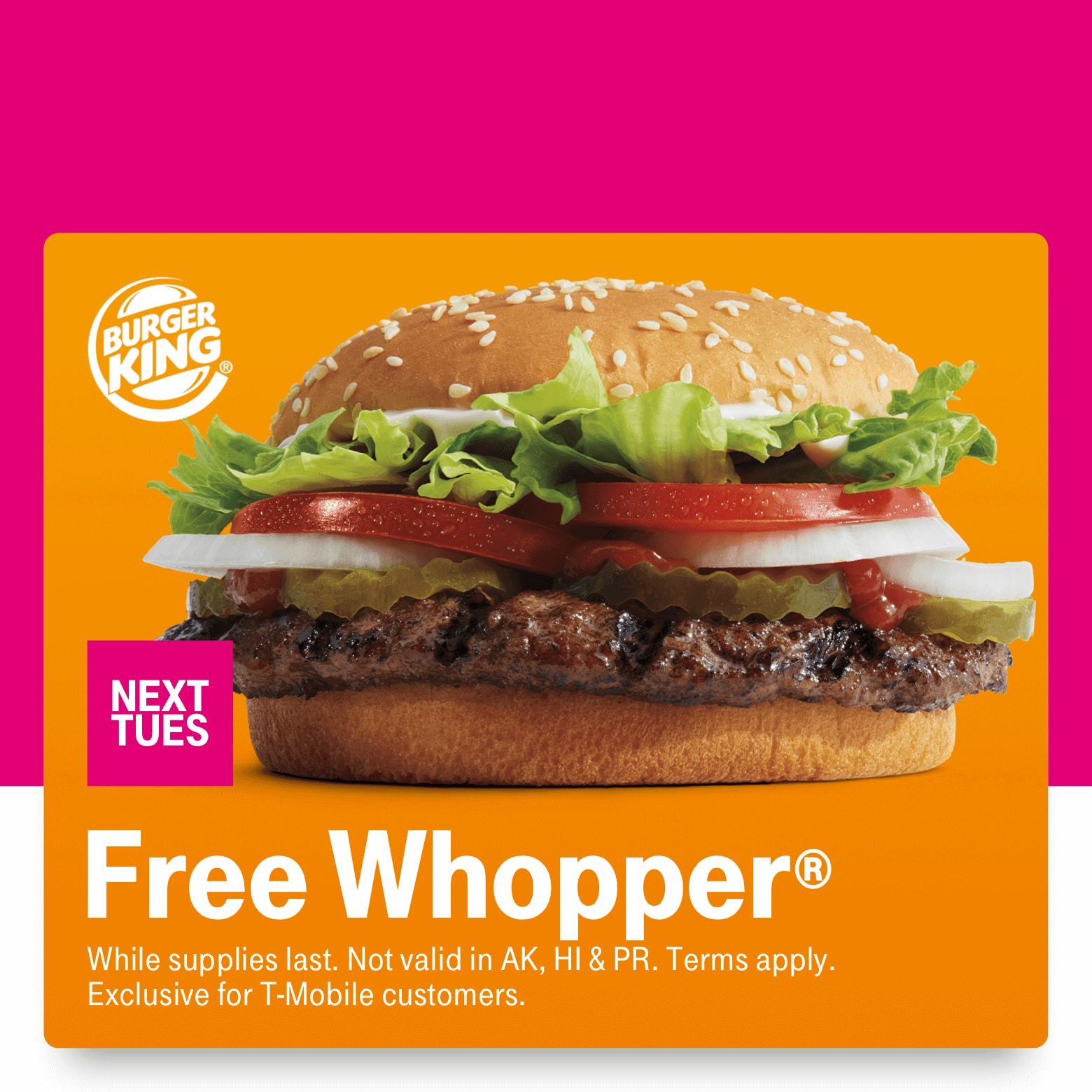 T-Mobile Customers 01/14: Free BK Whopper, $15 Barkbox