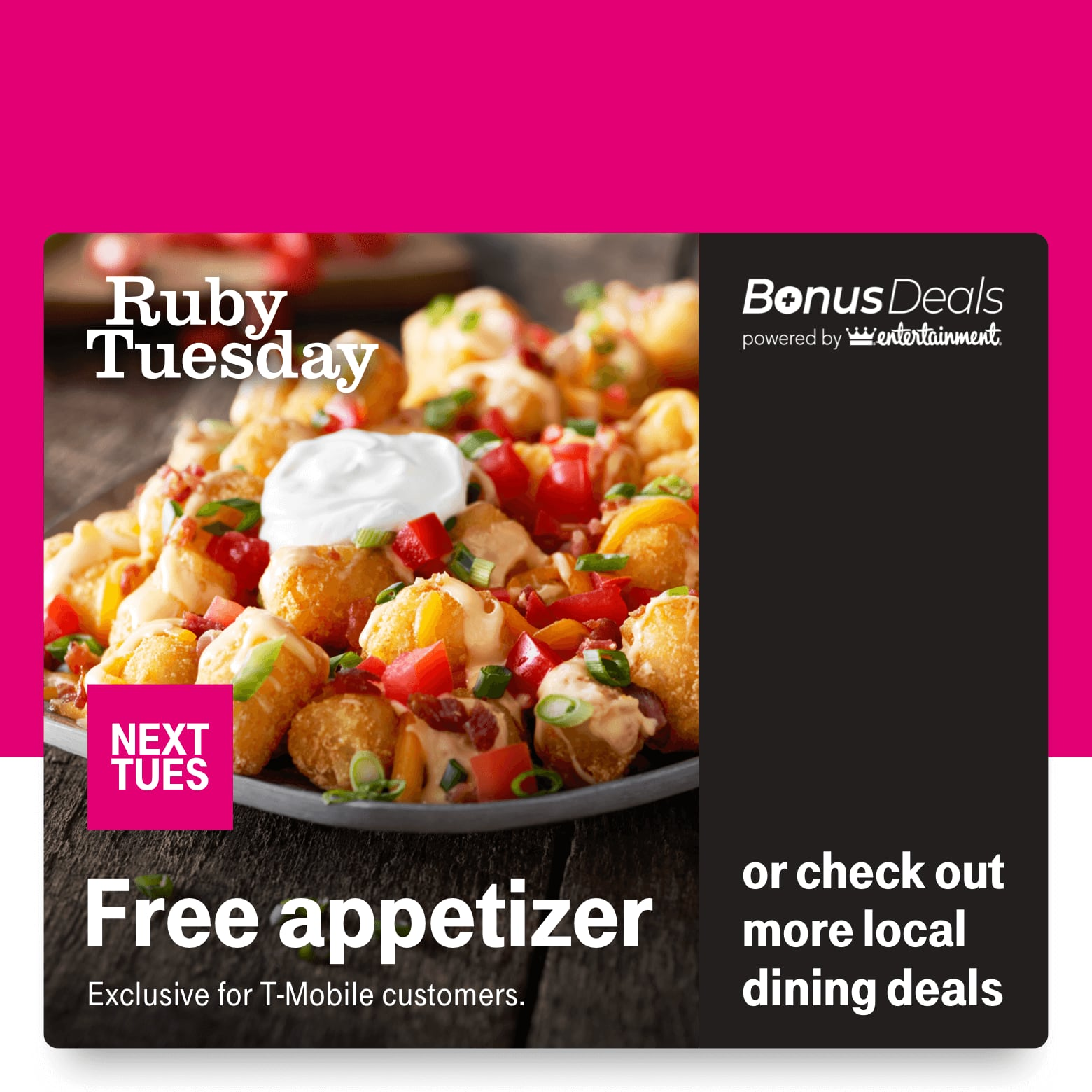 T-Mobile Customers 02/25: Ruby Tuesday Free Appetizer, Walgreens 10 Free 4x6 prints