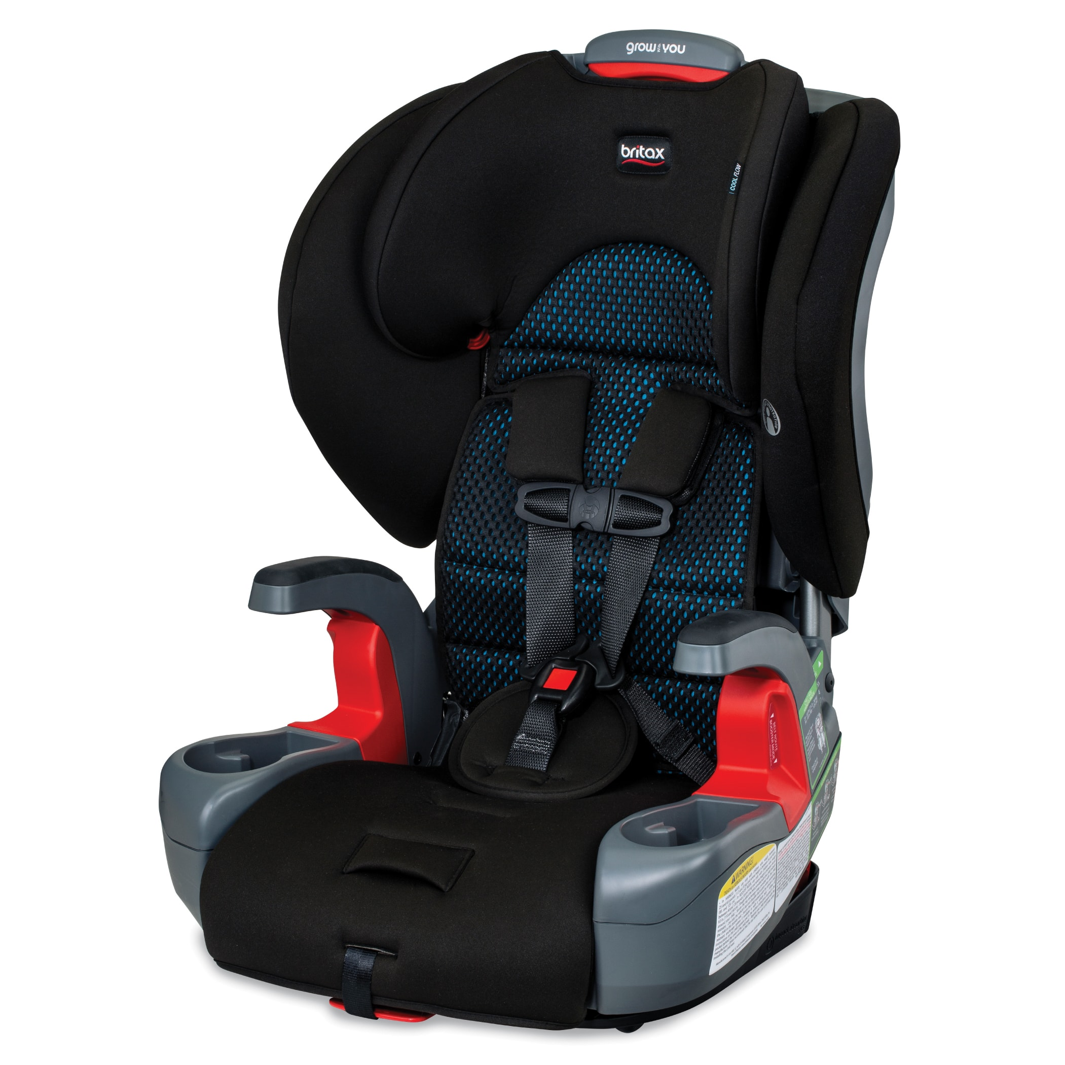 Walmart YMMV: Britax Grow With You Harness-2-Booster Car Seat, Cool Flow in Black and Teal $100