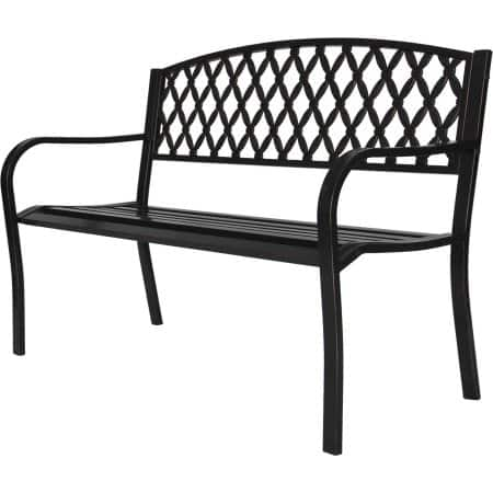 Park Bench 4 ft. Metal for $44.2 + free shipping  at Walmart Clearance