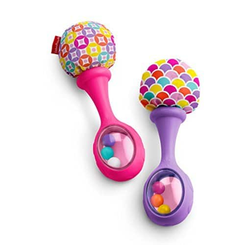 Fisher-Price Rattle 'n Rock Maracas $3.99 - Two color options - Amazon Prime