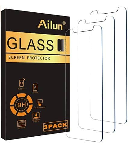 Ailun Glass Screen Protector Compatible for iPhone 11/iPhone XR, 6.1 Inch 3 Pack Tempered Glass  With Deal:	$5.92