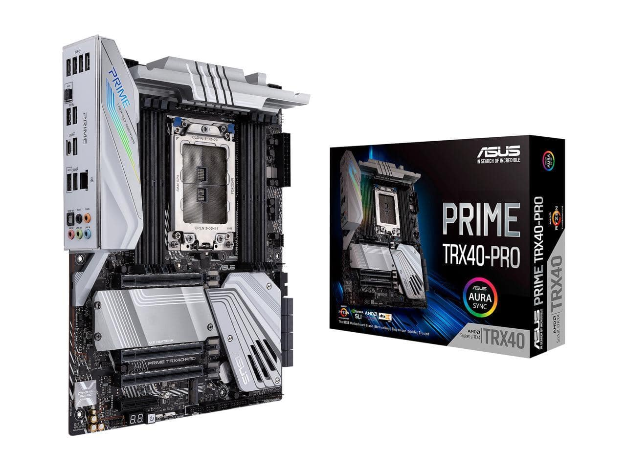 ASUS PRIME TRX40-PRO sTRX4 AMD TRX40 SATA 6Gb/s ATX AMD Motherboard FOR $269.99+f/s