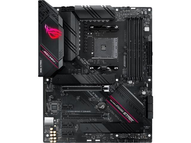ASUS ROG STRIX B550-F GAMING AM4 AMD B550 SATA 6Gb/s ATX AMD Motherboard for $159.99+FS