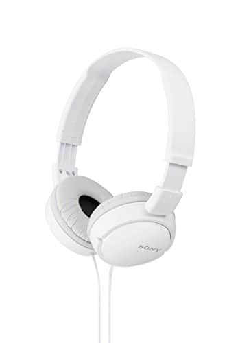 Sony ZX Series Stereo Headphones - White for $3.97
