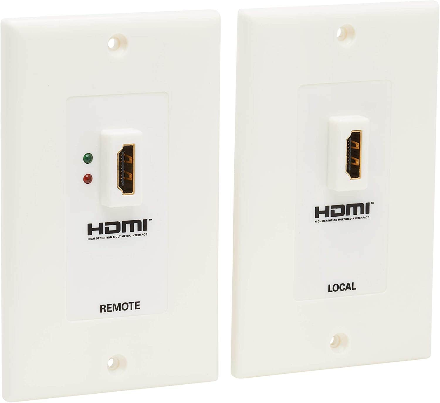Tripp Lite HDMI over Dual Cat5/Cat6 Extender Wall Plate Kit $58 Free Shipping