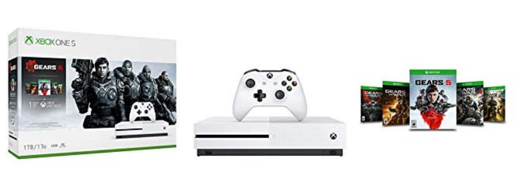 Amazon Xbox One S bundles for $199 BF price is live