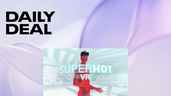 SUPERHOT VR on Oculus Quest - $17.49 - Daily deal