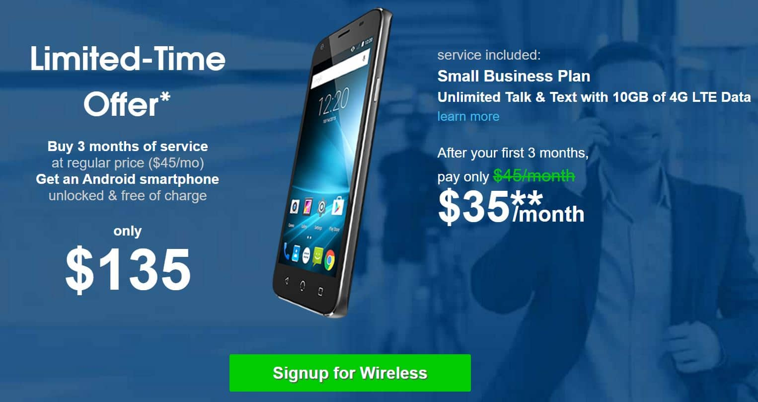 NetTalk CONNECT (T-MOBILE) Wireless- 55% off Promo Deal 3-month Service + Nuu X4 Smartphone Unlocked for $135