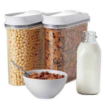 Costco: OXO Cereal Keeper, 2-pack (4.5 Qt) $19.99 + Free Shipping !! - $19.99
