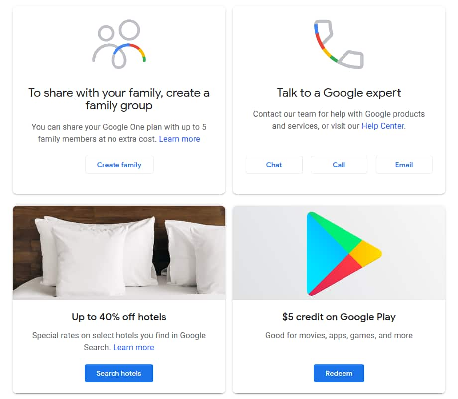 Free $5 Google Play credit if your account changed to Google One (YMMV)
