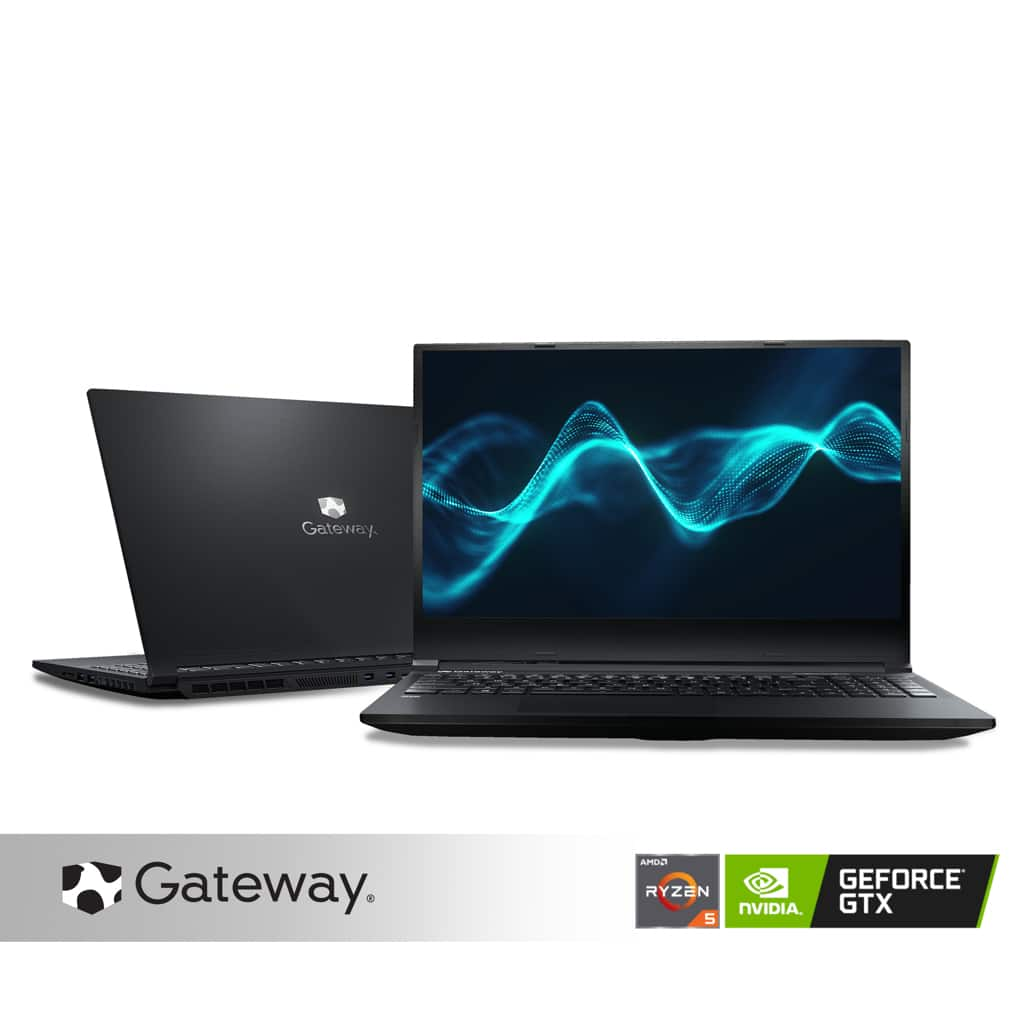 "Gateway Creator Series 15.6"" FHD Performance Notebook, AMD Ryzen 5 4600H, NVIDIA 1650 GTX, 8GB RAM, 256GB SSD, Xbox Game Pass for PC, HD Webcam, Cortana, Windows 10 Home, - $599.00"