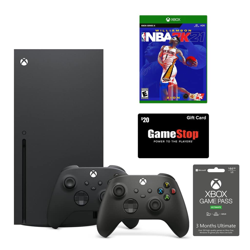 Xbox Series X NBA 2K21 and Game Pass System Bundle with ...