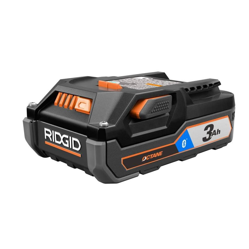 FACTORY RECONDITIONED  RIDGID OCTANE 18 Volt Lithium-Ion Bluetooth 3 Ah Battery Pack $34.99 was $79.99 56% off at Direct Tools Outlet