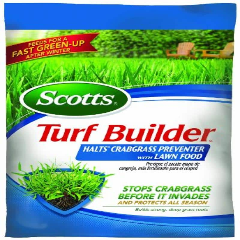 Big YMMV  Scotts Turf Builder Halts Crabgrass Preventor, 40lbs. 15,000 sq ft Walmart $5.00