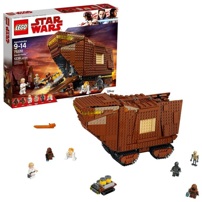 Target: LEGO Star Wars Sandcrawler 75220 Building Set (1,239 Pieces) $70