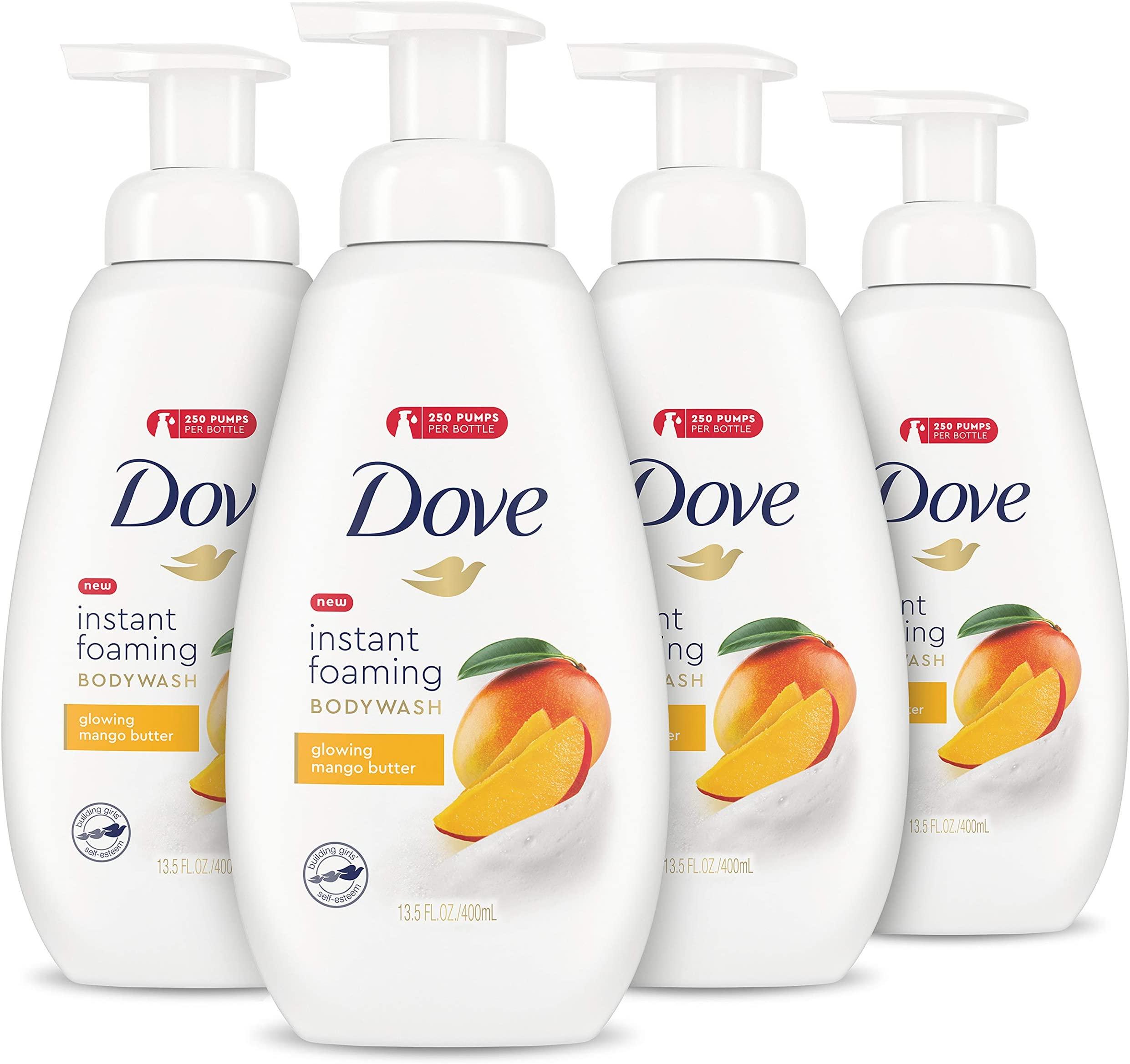4 Pack - Dove Foaming Body Wash (Mango Butter) $15.94 @ Amazon