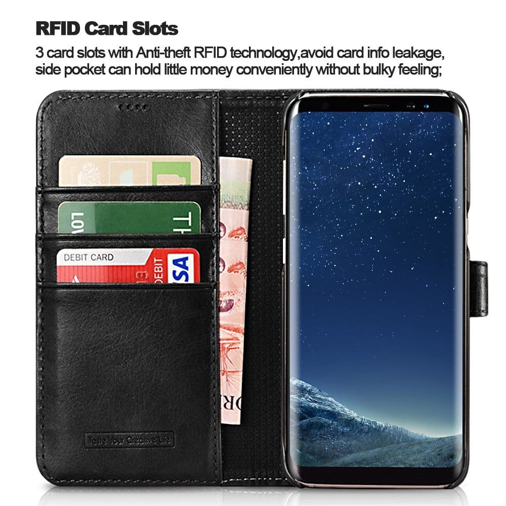 iPhone 6/7/8 leather / wallet / silicone cases / Samsung S8/S8+ wallet cases from $0.99