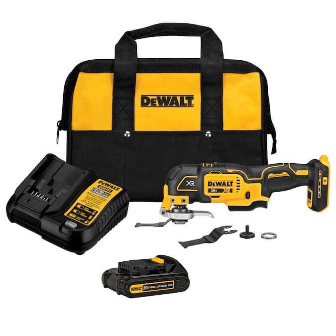DEWALT 6-Piece Brushless 20-Volt Max 3-speed Oscillating Multi-Tool Kit with Soft Case (1-Battery Included) Lowes.com - $99