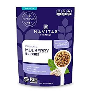 8 Oz Navitas Organnics NAVITAS MULBERRIES ORG Organic $5.39 AC & S&S