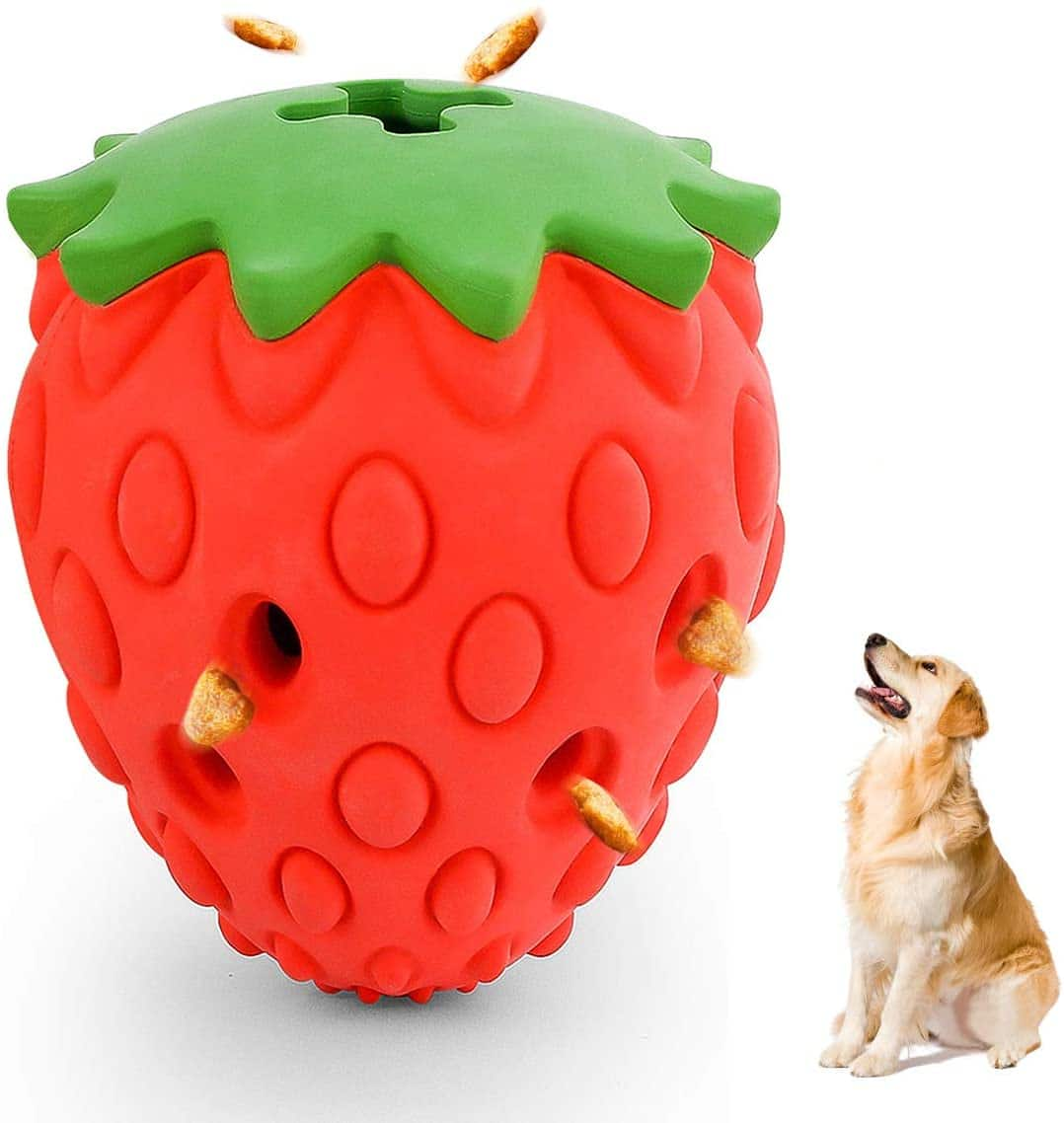 Chew Toys for Dogs with Lifetime replacement -Pineapple, Mango, Stawberry, Pitaya - $8.09