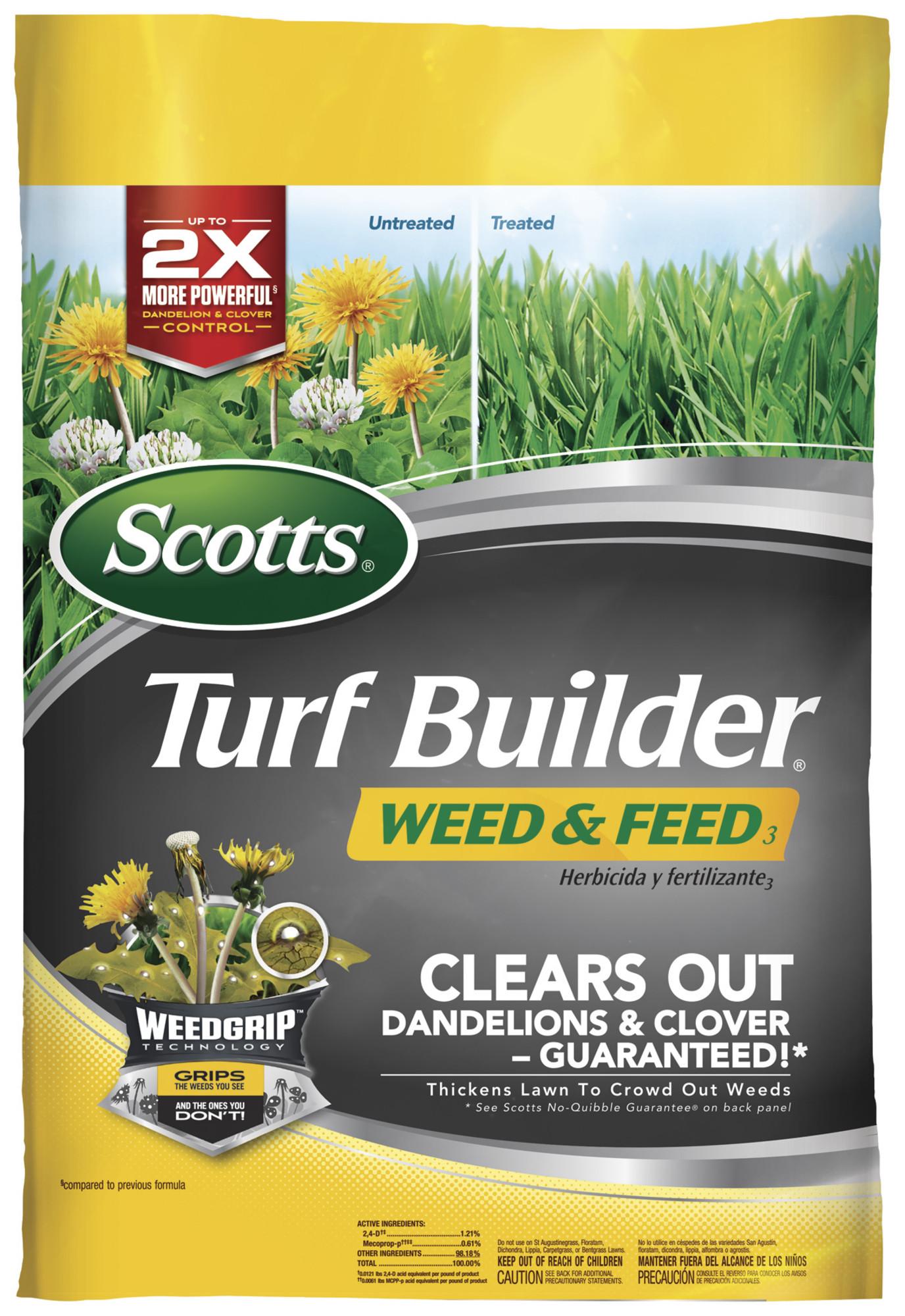 Scotts Turf Builder 15,000 sq ft $11.25 at Walmart B&M, YMMV