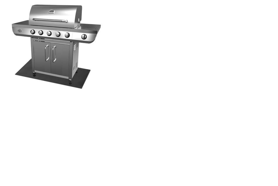 Range Master 5 Burner Stainless Steel Gas Grill With Side Burner, 2yr Warranty  $199 - Aldi B&M