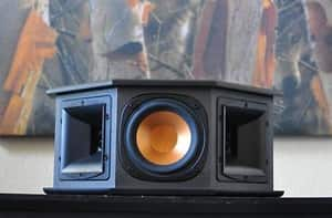 """Klipsch Reference Series RS-10; 4-Inch Two-Way Surround Speakers, Dual 1"""" Tractrix Horns, Single 4"""" Driver;  $160/Pair Shipped"""