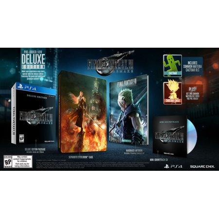 Final Fantasy VII Remake Pre-Order @ Walmart - Standard 49.94 / Deluxe - 69.94 $69.94