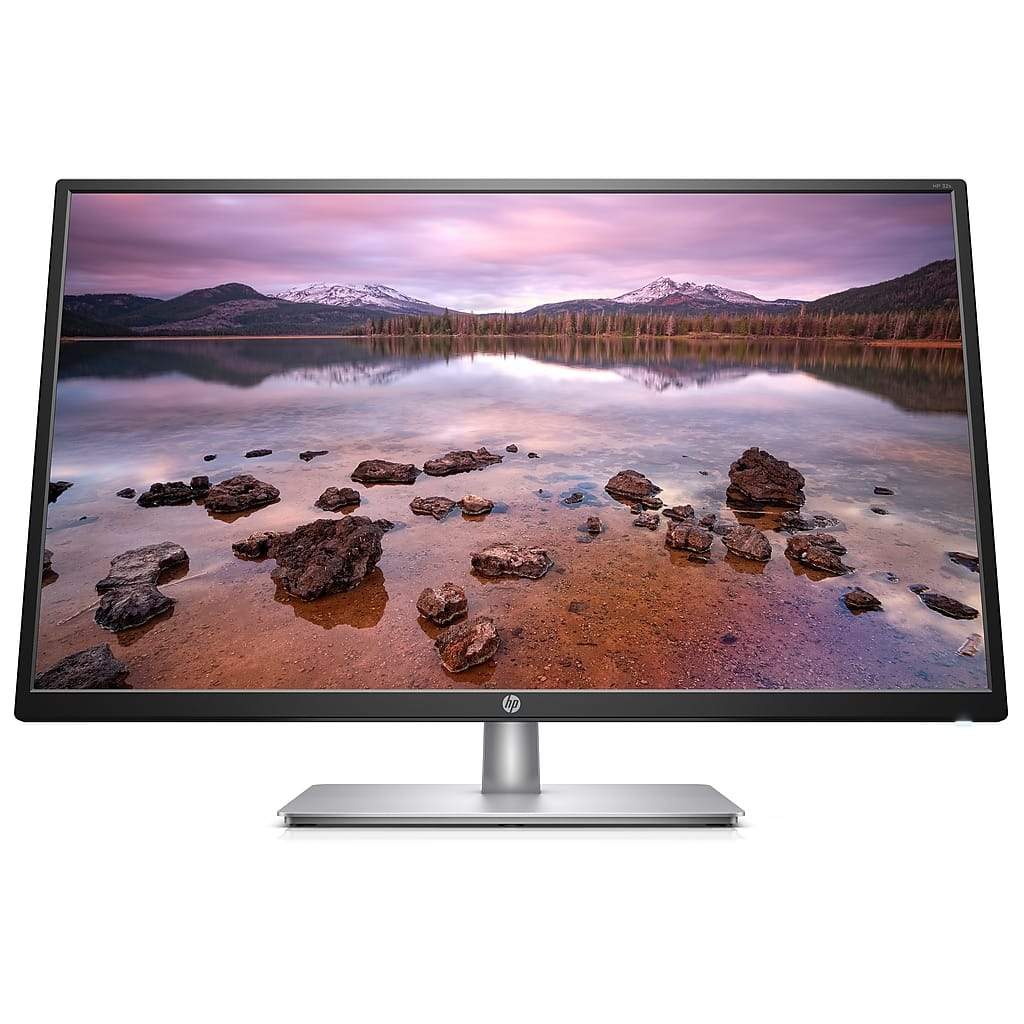 "HP 32s 2UD96AA#ABA 31.5"" LED Monitor, Silver/Black 139 - 25 = 115 (glossy) $115"