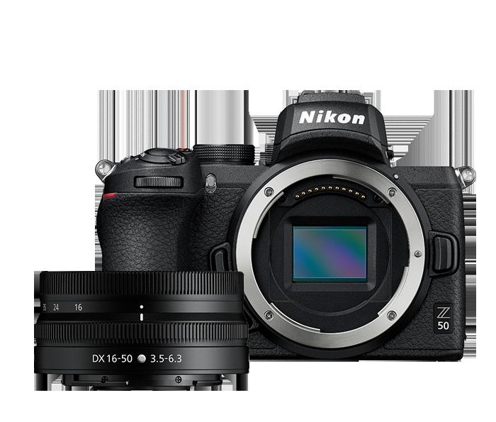 Manufacturer-refurbished Nikon Z50 with 16-50 mm VR lens $800