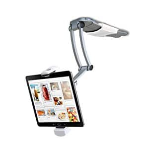 2-in-1 Kitchen Mount Stand for 7-13 Inch Tablets/iPad (2017)/iPad Pro 9.7, 10.5, 12.9/Surface Pro/IPad mini $22.76