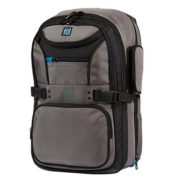 "Ful Alleyway Cruncher 17"" Laptop Backpack $33.99 Free Shipping"