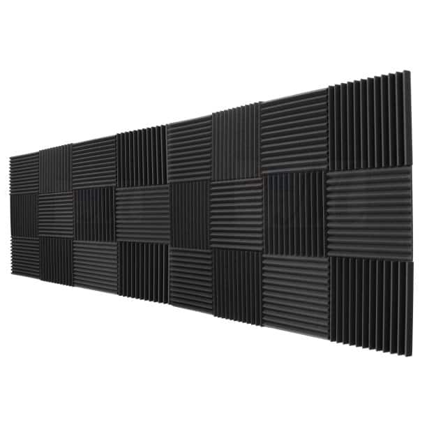 Mybecca Soundproofing Acoustic Panel 24-Pack $27.99 with Free Shipping