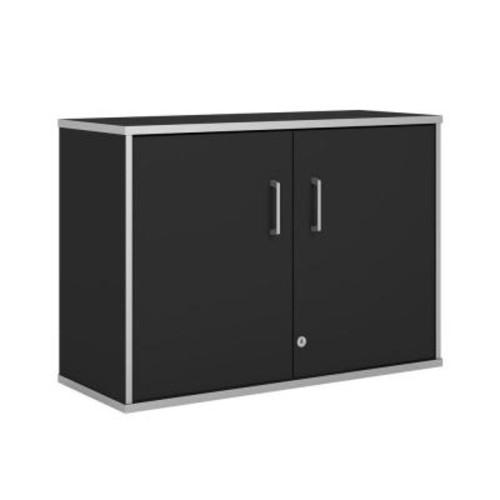 Ameriwood SystemBuild Apollo Wall Cabinet, Black $39