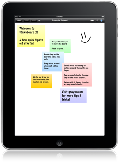 Stickyboard 2 for iPad - Free