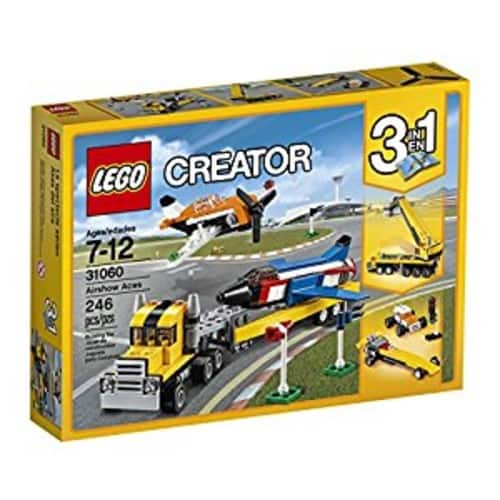 LEGO Creator Airshow Aces for $15.59
