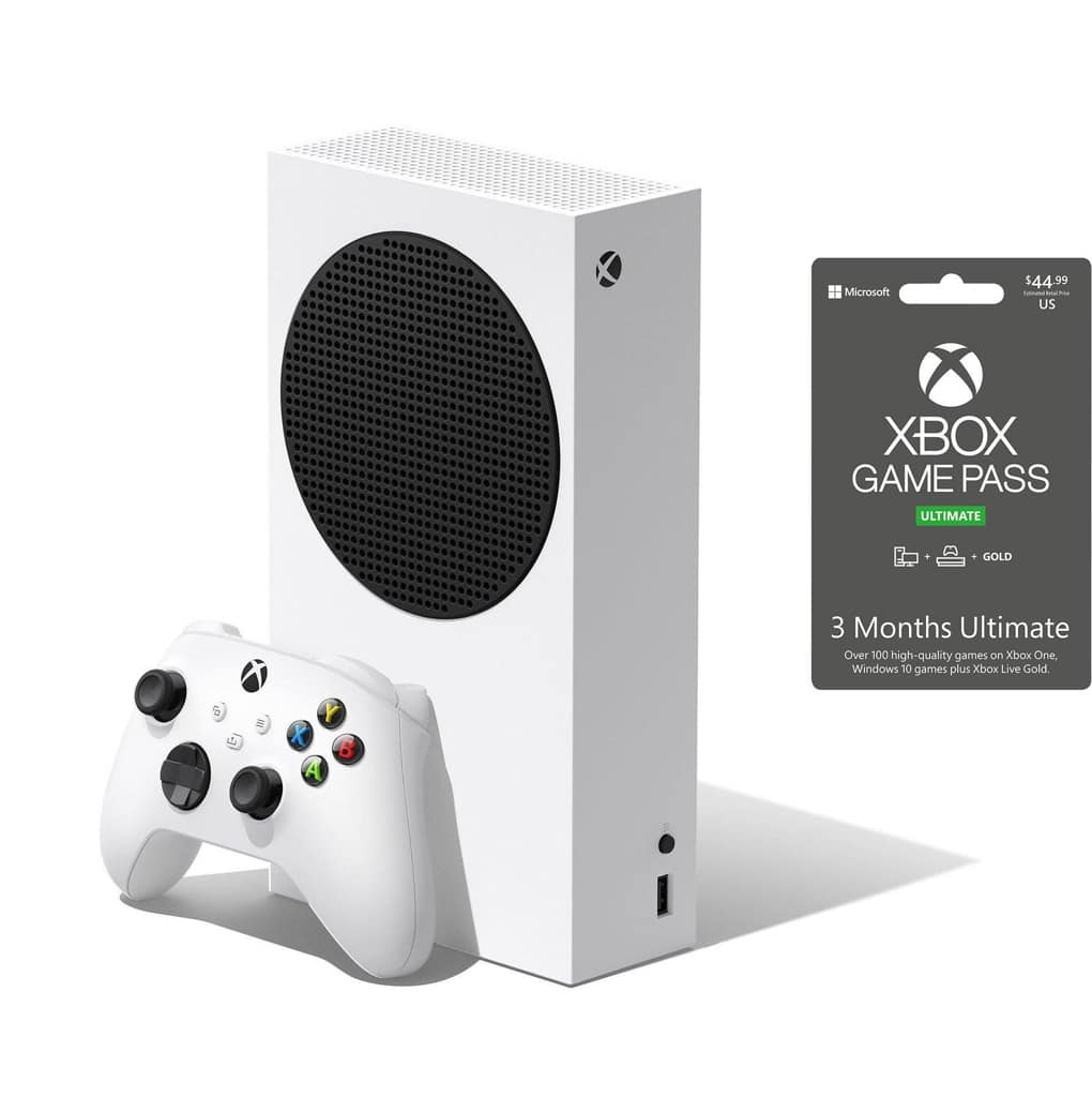 Xbox Series S with 3 months Ultimate Game Pass System Bundle |  | GameStop - $344.98