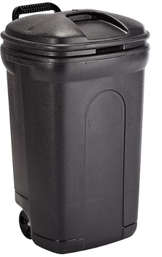 35 Gallon Trash Can with Wheels - $8.96 at KMART