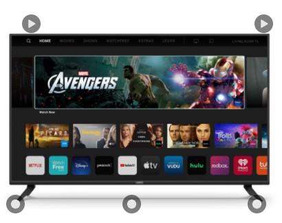 "VIZIO 70"" Class 4K UHD LED SmartCast Smart TV HDR V-Series V705-H $588"